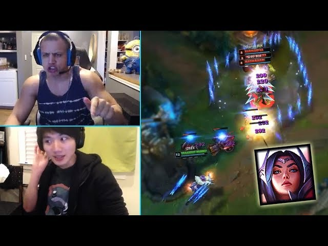 STREAMERS TRY OUT THE NEW IRELIA REWORK..! | Tyler1 RUNS IT DOWN MID | LoL Stream Moments #116