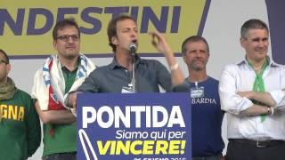 #Pontida 2015  - Intervento di Massimiliano #Fedriga