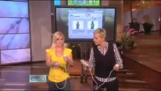 Ellen, Alison Sweeney and a Nintendo Wii! 2009-May-11
