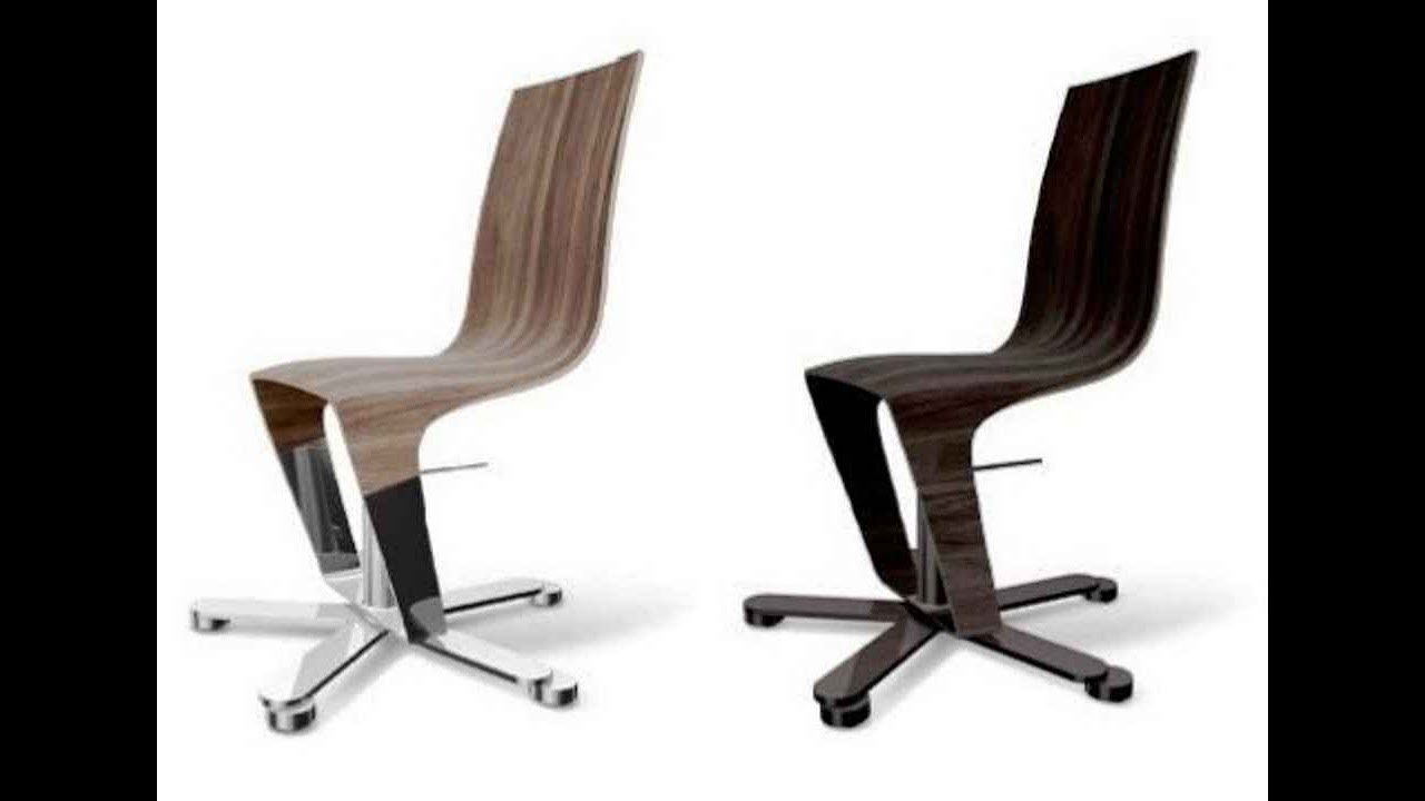 modern desk chair no wheels