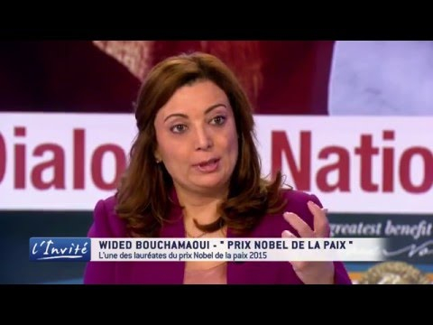 """Wided Bouchamaoui : """"Les Tunisiens méritent le prix Nobel de la paix"""""""