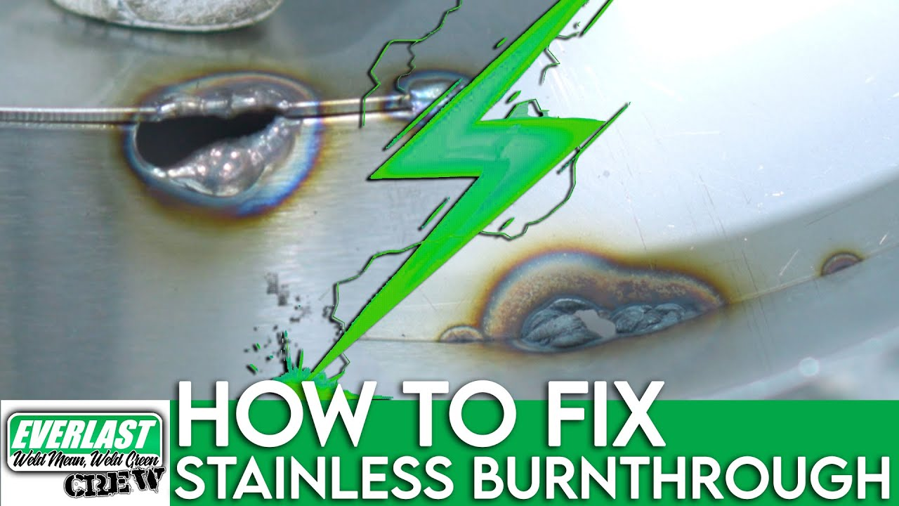 Repairing Burn-through on Stainless | Everlast Welders