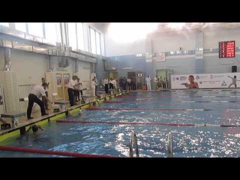 Турнир по плаванию в рамках Кубка мира по современному пятиборью в Нижнем