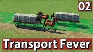 Transport Fever Gameplay deutsch #2 PREVIEW ► Warentransport