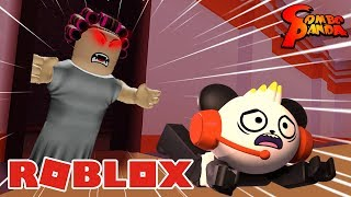 ROBLOX BEDTIME CAMPING WITH SCARY GRANDMA! Let's Play Roblox Bedtime with Combo Panda