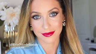 Holiday Glam Smokey Eye Cut Crease Makeup Tutorial