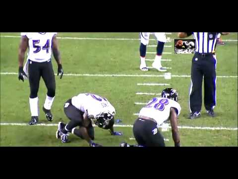 Jacoby Jones suffers freak knee injury when his teammate plows into him on punt return