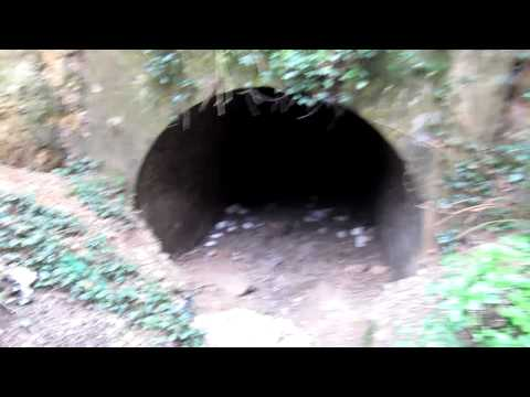 Smugglers Tunnel one of the Isle of thanet secrets at Pegwell Bay