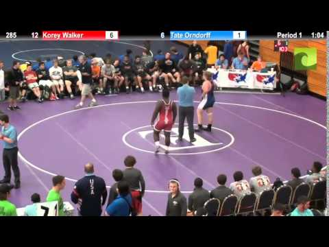 285 Korey Walker vs. Tate Orndorff