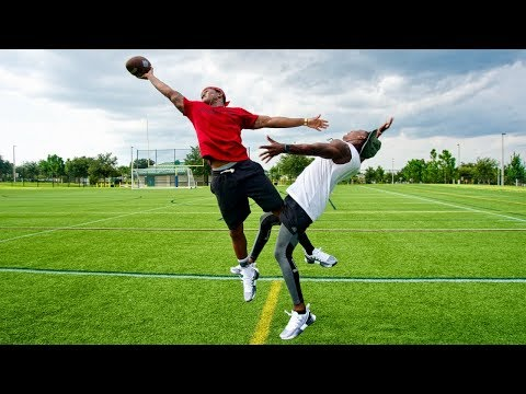 EXPOSED! I DONT OWN MY ANKLES ANY MORE.. (DB vs. WR 1ON1)