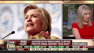 Judge Andrew Napolitano on Guccifer hacking into Hillary Clinton's Email Server