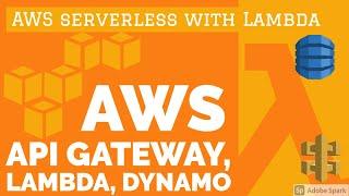 Lambda API Gateway Dynamo DB #18 Part 1