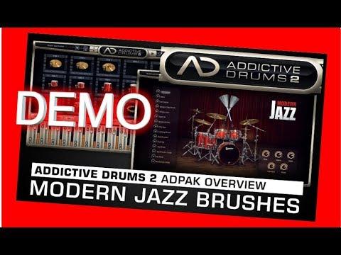 MODERN JAZZ BRUSHES Adpak DEMO - Addictive Drums 2 - XLN Audio