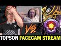 TOPSON STREAM with FACECAM - vs Master Tier Invoker Stormstormer Dota 2