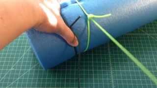 Basic Knots - Canadian Jam / Arbor Knot