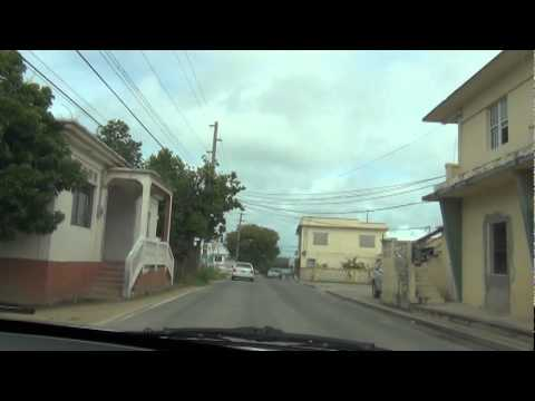 Anguilla roads 2:Albert Lake Drive turning right turn to Sto
