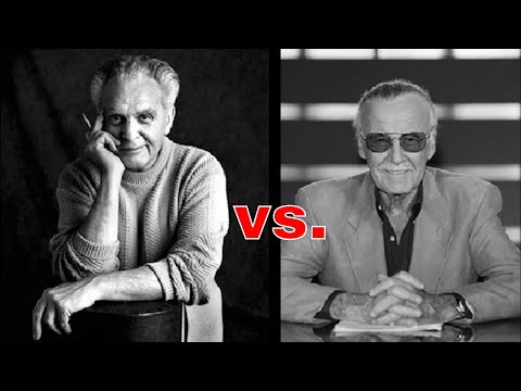 """STAN LEE VS. JACK """"THE KING"""" KIRBY : THE FIGHT FOR HIS RIGHTS : HISTORY OF COMICS JACK KIRBY PT. 4"""