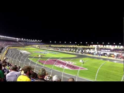 Start / Green Flag at Charlotte Motor Speedway 2012 Bank of America 500 Race