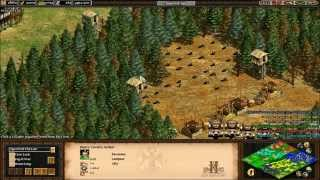 Age of Empires II HD: Michi 3v3 online Forgotten Empires