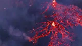 Erupting volcano || volcano eruption yellowstone || erupting volcano today Hawaii