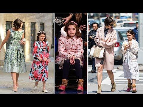 Katie Holmes & Tom Cruise's Daughter - 2018 (Suri Cruise)