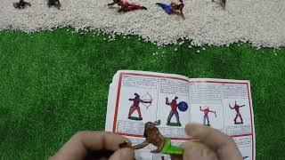 Солдатики игрушки играть с детьми игра как мультики лего роботы война про солдатиков Форт Техас 148