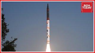 India Successfully Test Fires Agni-5 Ballistic Missile