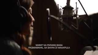 Sining ng Pinoy feat. Gloc 9, Sarah Geronimo and Denice Barbacena