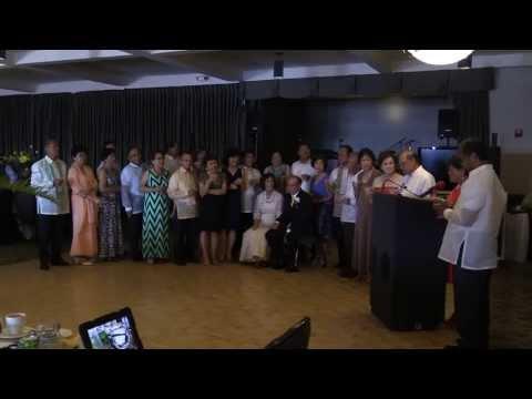 Puri and Nard's 50th Wedding anniversary, Reception