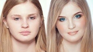Свадебный макияж в гелиевой технике. (Урок №12)