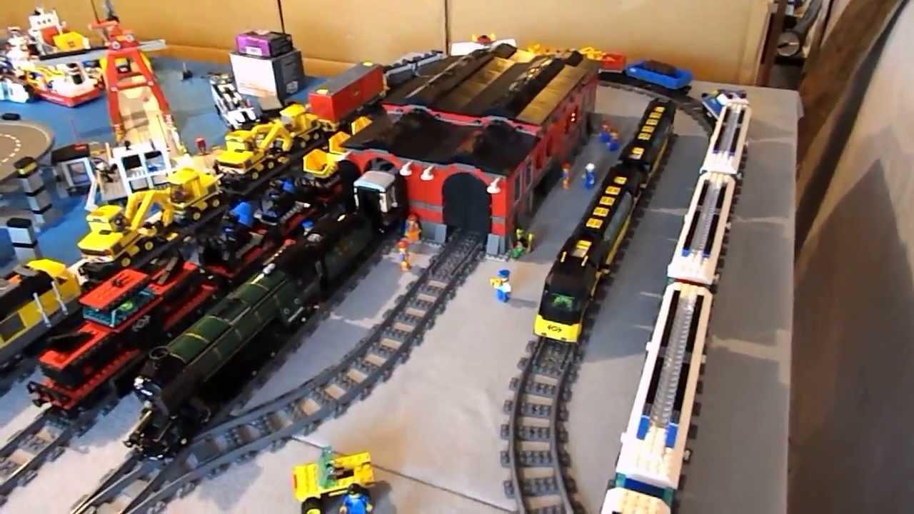 Lego City Update Train Yard Youtube