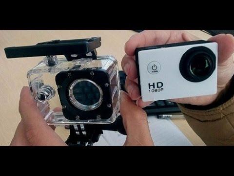 Китайская GoPro Экшн камера SJ4000 Посылка из Китая!