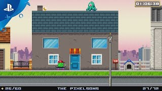 Super Life of Pixel – Announce Gameplay Trailer | PS4, PS Vita