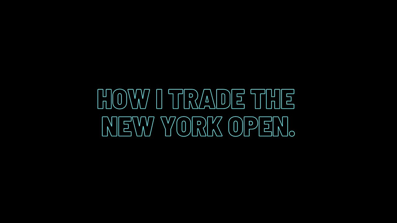 How Denis Prepares to Trade the New York Session