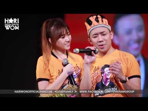 Hari Won, Trấn Thành song ca ngọt ngào và hát live Yêu Không Hối Hận | Offline Trấn Thành | SFCAM