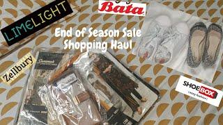 End of Season Sale Shopping Haul ~ Limelight, Zellbury, Shoe Box & Bata