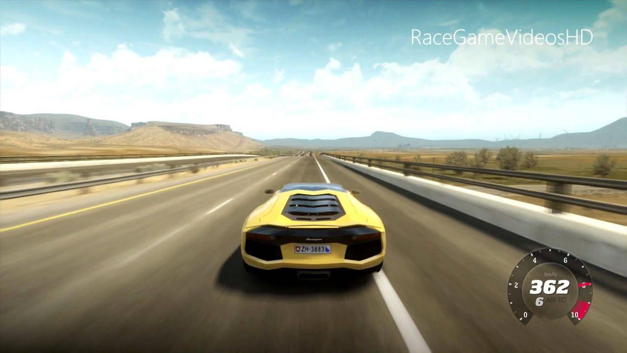 Lamborghini Aventador Topspeed Run 423 Kmh 263 Mph
