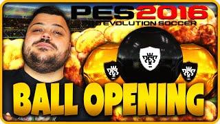 PES 2016 BALL OPENING : TUTTO NERO !