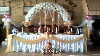 Воздушные шары, оформление, украшение НЕДОРОГО!!!(Украшение ресторанов воздушными шарами в Днепропетровске Оформление воздушными шарами, украшение воздуш..., 2012-10-03T07:50:31.000Z)