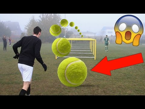 Thumbnail: EXTREME TENNIS FOOTBALL CHALLENGES VS BRO!!!!