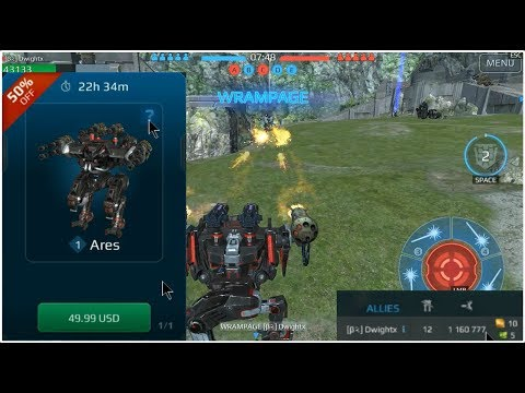 Repeat Supermechs⛅ 3v3 Campaign 🤖 Roadster [Overload