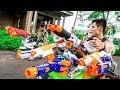 Battle Nerf War: Martial Arts Nerf Guns Special Mercenary Car & Tank Nerf