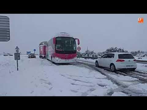 Temporal de nieve en la provincia de Salamanca