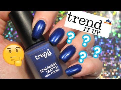 dm trend shimmer matte nail