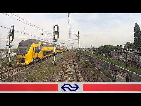 CABVIEW HOLLAND Rotterdam - Utrecht VIRM 2017