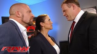The Authority demands an explanation from Kane: Raw, Sept. 21, 2015