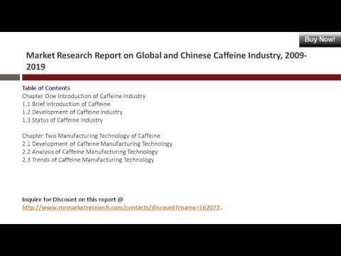 Caffeine Market Research Report 2009-2019 For Global and China