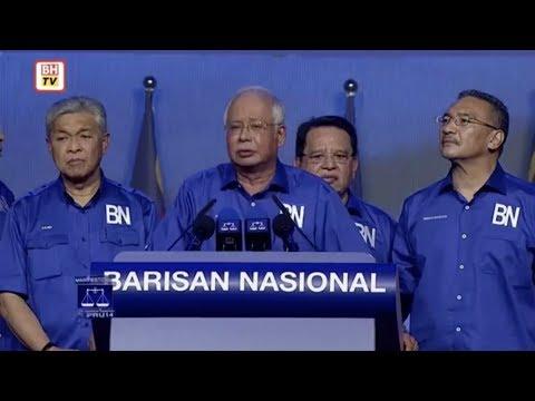 Pengumuman Manifesto BN untuk PRU-14