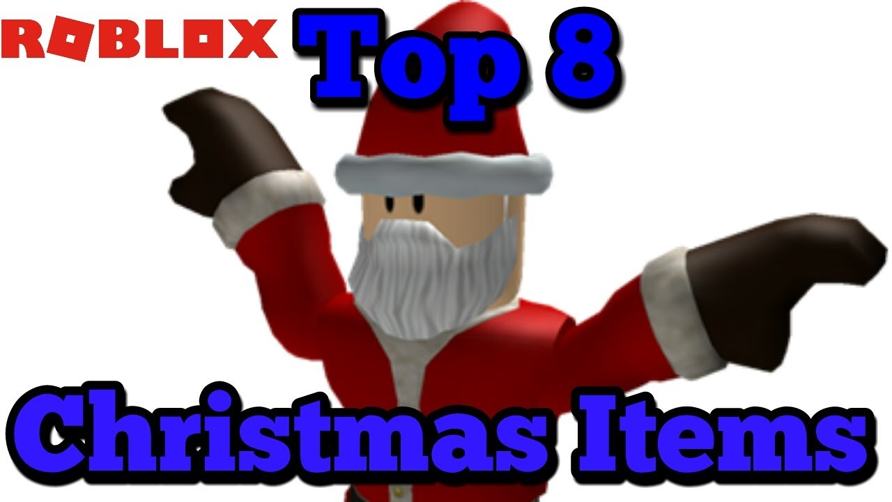 Roblox Christmas Item 2020 Top 8 Roblox Items! (2020)   YouTube