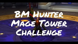 Mage Tower Challenge - Beast Mastery Hunter - A Challenging Look Achievement (World of Warcraft)